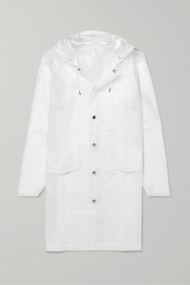 Rains Coats Hooded matte-TPU raincoat