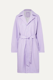 Rains Matte-PU trench coat