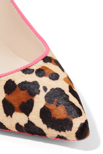 a81a52dcee25 Sophia Webster. Rio leopard and zebra-print calf hair pumps.  375.  Exclusive. Zoom In