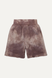 Ages 1 - 5 tie-dyed French cotton-terry shorts