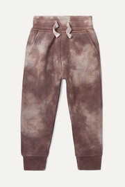 Ages 1 - 5 tie-dyed French cotton-terry sweatpants