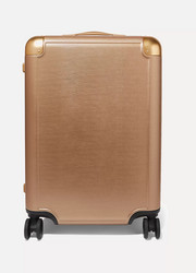 + Jen Atkin Medium metallic hardshell suitcase