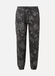 Andy camouflage-print cotton-jersey track pants