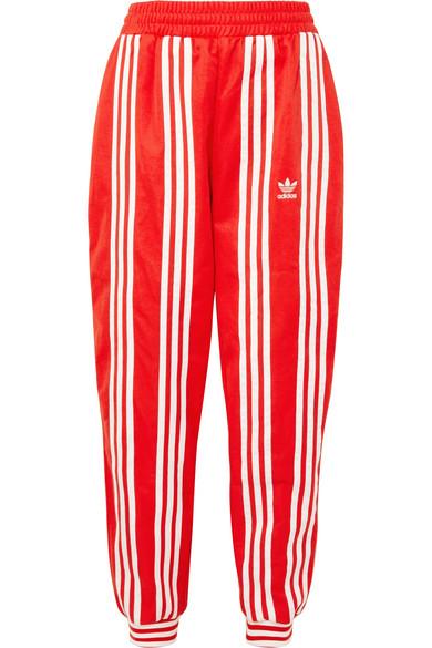 e729f837d2b adidas Originals | + Ji Won Choi striped cotton-blend jersey track ...