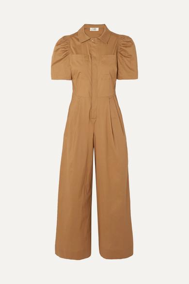 Sea Suits Sienna cotton-poplin jumpsuit