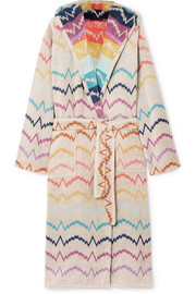 Missoni Home Vera hooded cotton-terry robe