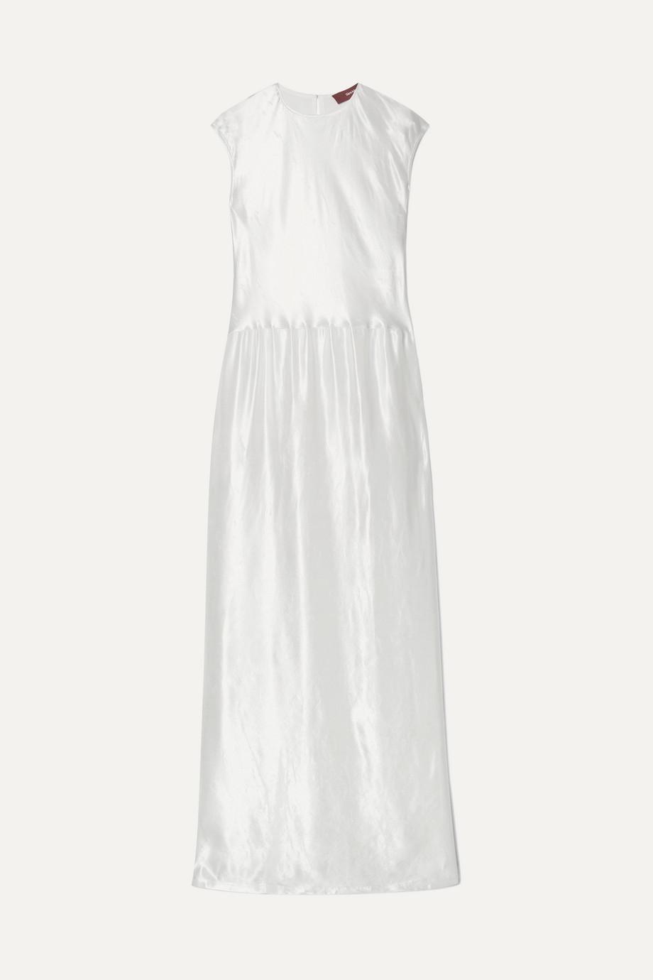 Sies Marjan | Winona washed-satin maxi dress | NET-A-PORTER.COM