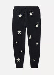 Sizes XSmall - Large Star intarsia cashmere track pants