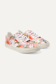 Size 32 - 35 Esplar printed leather sneakers