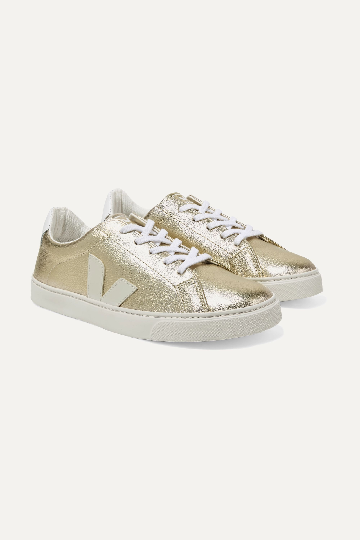 39 Esplar metallic-leather sneakers