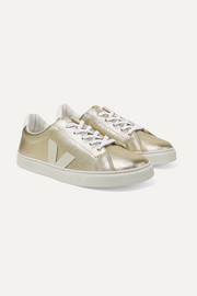 Size 36 - 39 Esplar metallic-leather sneakers