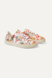 Size 36 - 39 Esplar printed leather sneakers
