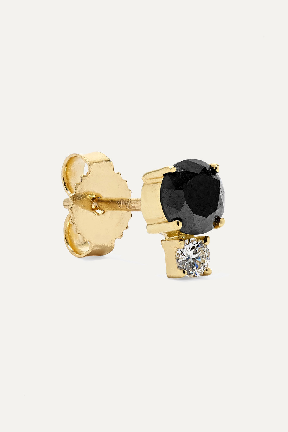 Jemma Wynne Ohrring aus 18Karat Gold mit Diamanten