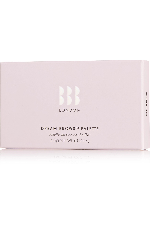 BBB London Dream Brows Palette - Medium/ Dark