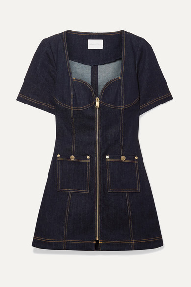 Alice Mccall Dresses Bloomsbury denim mini dress