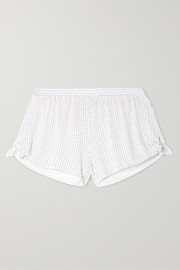 Tropea printed stretch-modal jersey pajama shorts