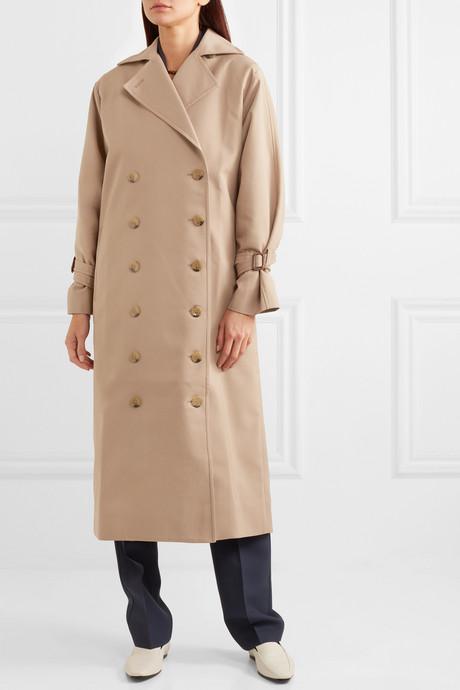 Pisa cotton-blend trench coat