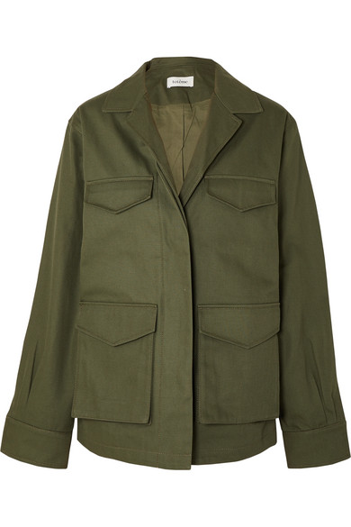 Totême Jackets Avignon cotton-twill jacket