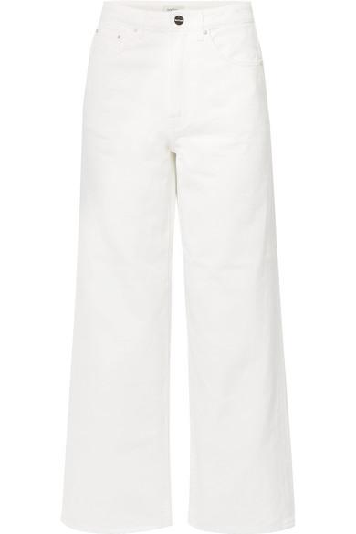 Totême Jeans FLAIR HIGH-RISE WIDE-LEG JEANS