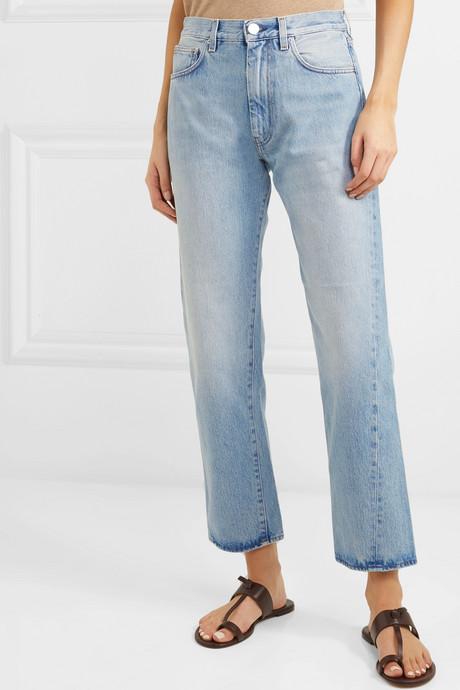 Original mid-rise straight-leg jeans
