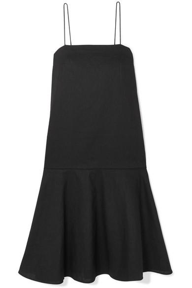 Totême Dresses ANDORRA COTTON AND LINEN-BLEND DRESS
