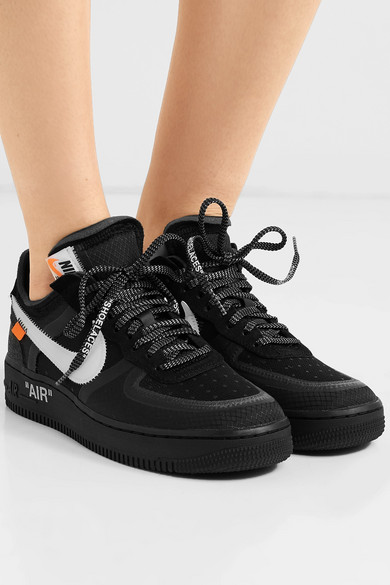 Nike X Off White The Ten Air Force 1 Low US9, Men's Fashion