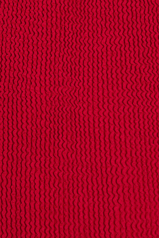 Hunza G Badeanzug aus Seersucker