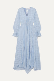 3.1 Phillip Lim Ruched jacquard maxi dress
