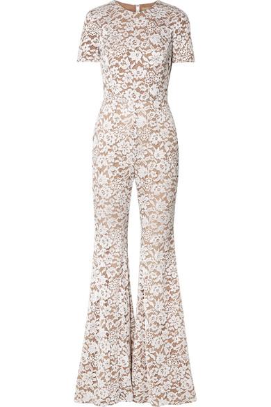 8d099fde4d3a Michael Kors Collection. Guipure lace jumpsuit