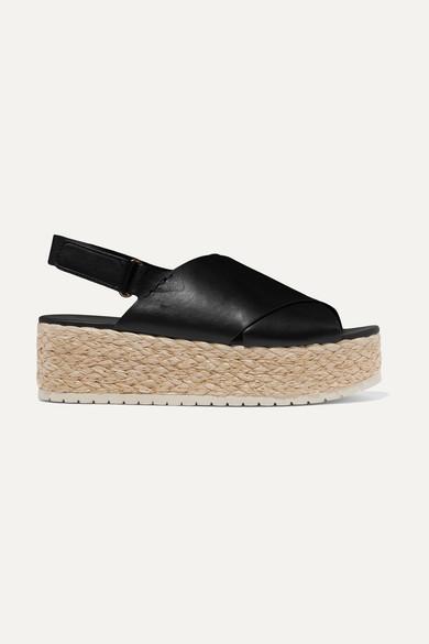 Platform Leather com Net Porter Espadrille VinceJesson A Sandals ZukPiOX