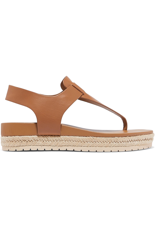 Vince Flint leather espadrille platform sandals