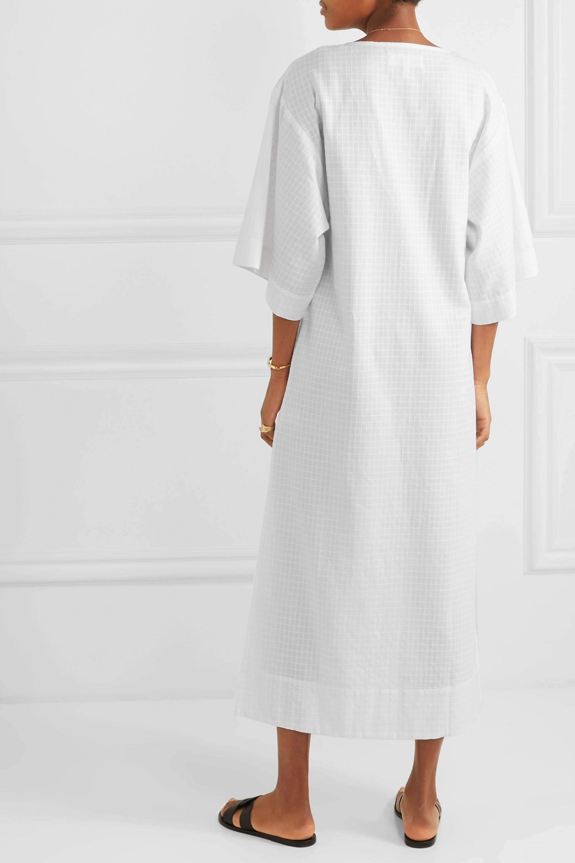 Mara Hoffman + NET SUSTAIN Paola organic cotton-voile kaftan