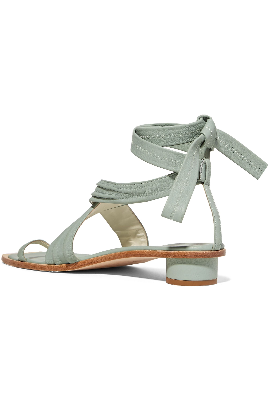 Tibi Miles leather sandals