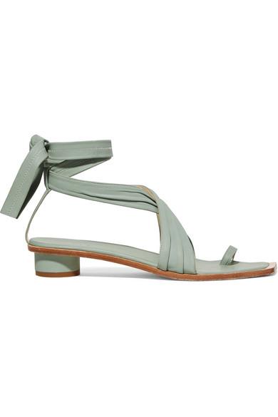 Tibi Sandals Miles leather sandals