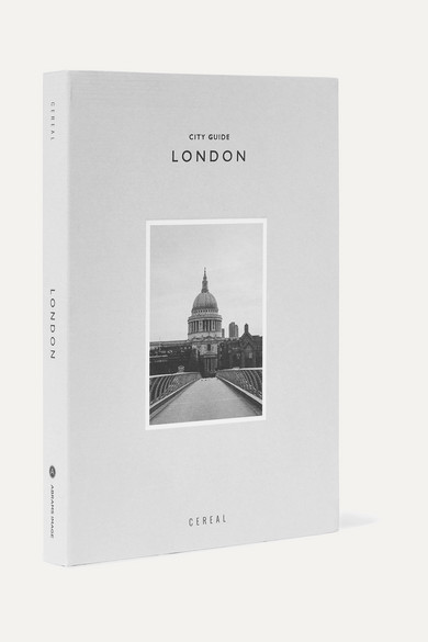 ABRAMS Cereal City Guide: London Paperback Book in Gray