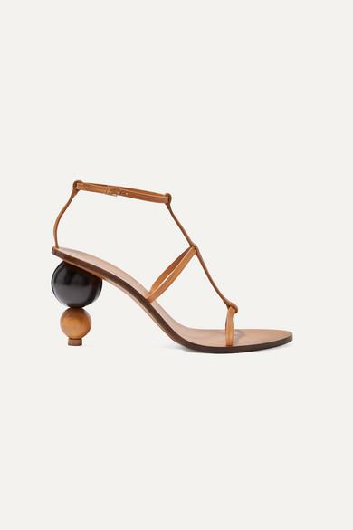 Cult Gaia Jeans Eden leather sandals