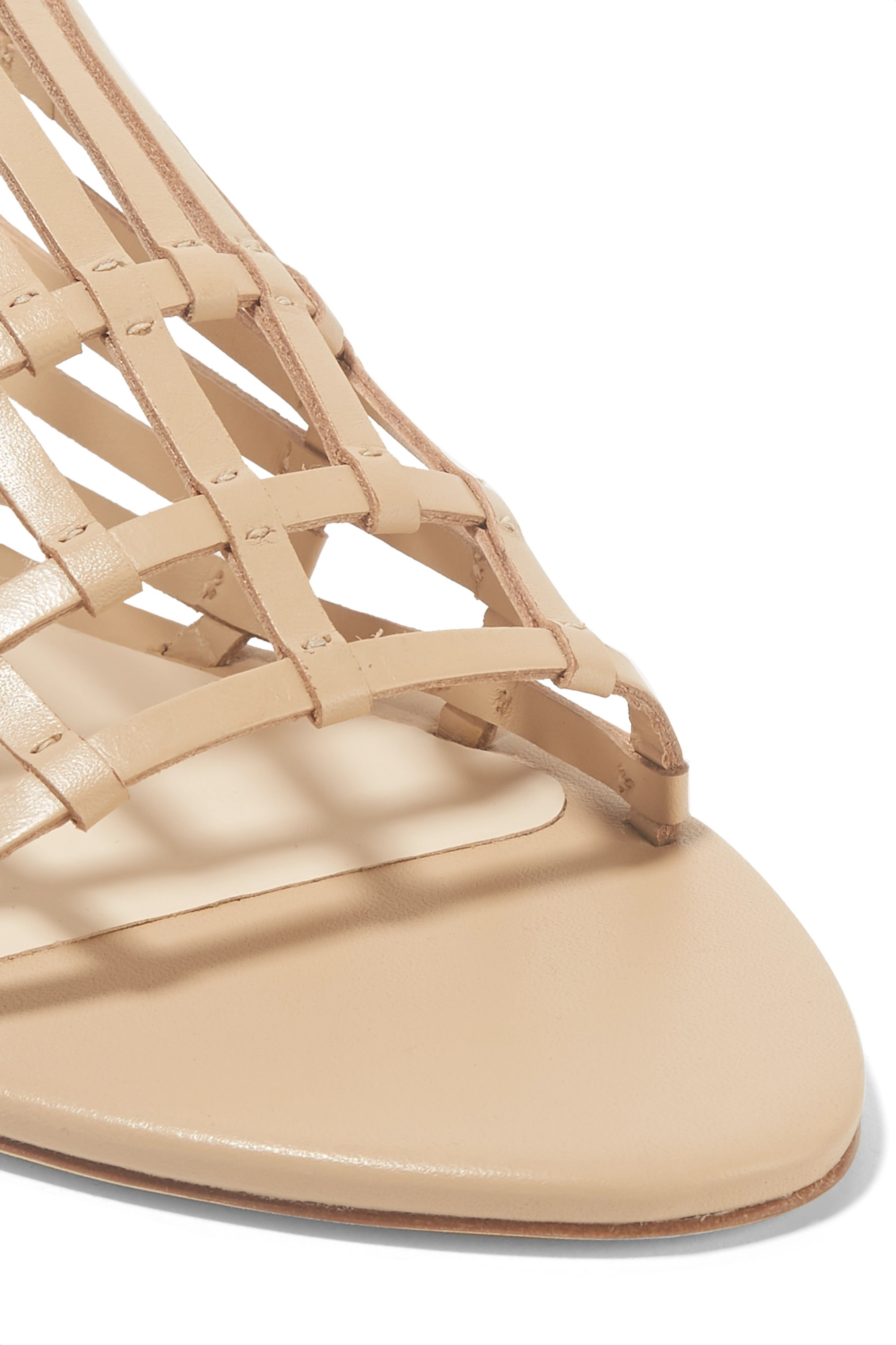 Cult Gaia Zoe woven leather sandals