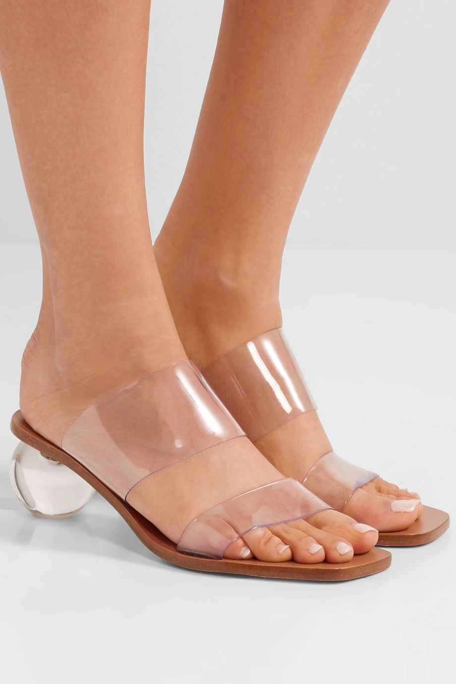 Cult Gaia Jila vinyl sandals