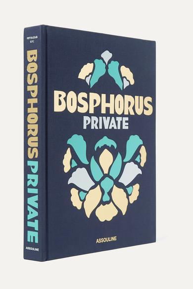 ASSOULINE Bosphorus Private By Nevbahar Koç Hardcover Book in Indigo