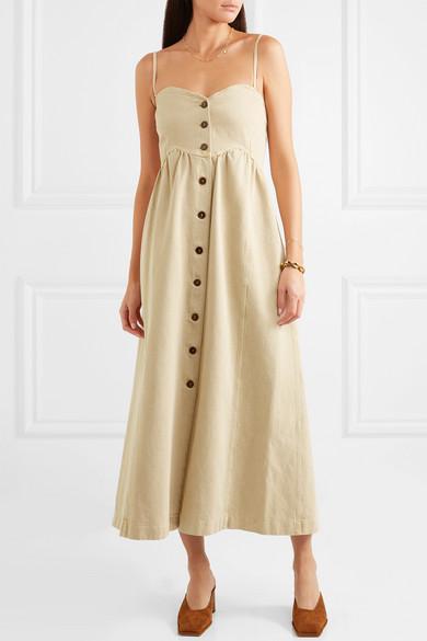 Nanushka Dresses Kaia denim midi dress
