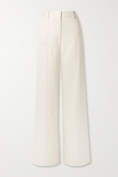 Adam Lippes Pants Canvas wide-leg pants