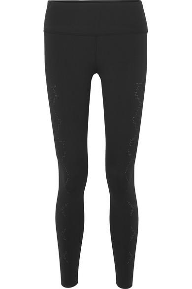 Varley Pants HUGHES PERFORATED STRETCH LEGGINGS