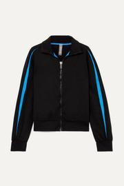 Ikena Nola striped stretch track jacket