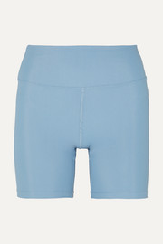 Cycling gerippte Shorts aus Stretch-Material