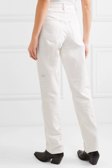 cozy fresh on sale cheap prices Ksubi | Playback high-rise straight-leg jeans | NET-A-PORTER.COM