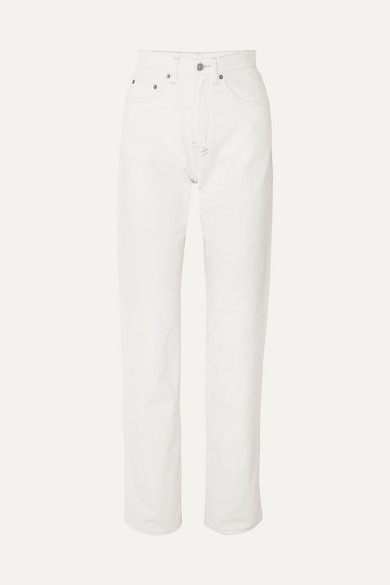 buying new sells official Playback high-rise straight-leg jeans