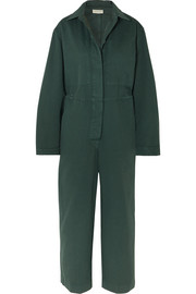 Dries Van Noten Cotton-twill jumpsuit