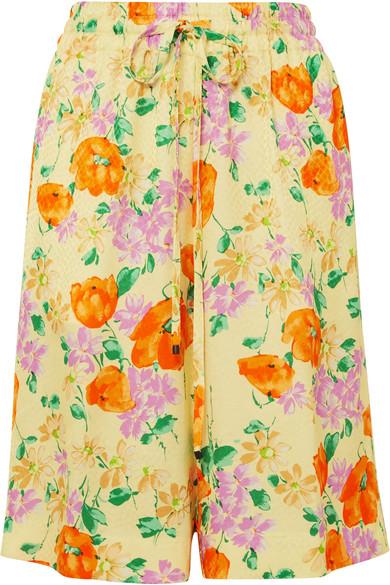 8cff27eb81 Dries Van Noten   Floral-jacquard shorts   NET-A-PORTER.COM