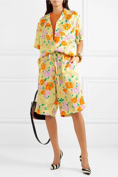 8cff27eb81 Dries Van Noten | Floral-jacquard shorts | NET-A-PORTER.COM
