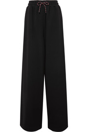 Dries Van Noten Cotton-jersey wide-leg track pants